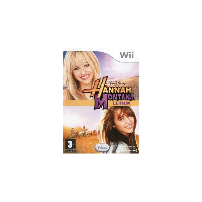 WII HANNAH MONTANA LE FILM - Jeux Wii au prix de 9,95€