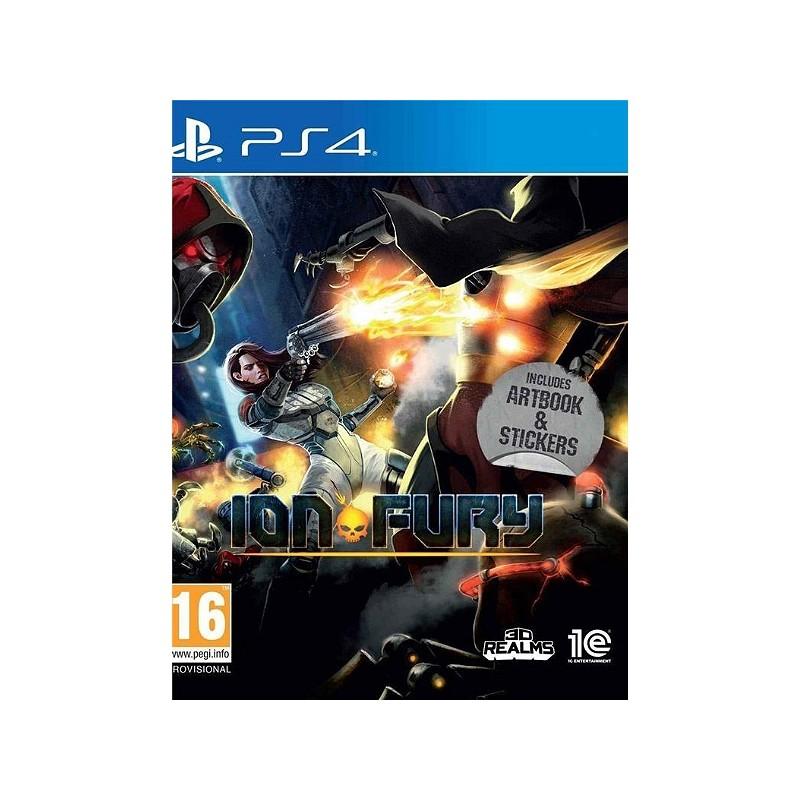 PS4 ION FURY - Jeux PS4 au prix de 24,95€
