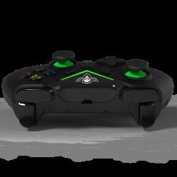 MANETTE FILAIRE XBOX ONE SPIRIT OF GAMER NOIR VERT - Accessoires Xbox One au prix de 29,95€