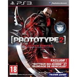 PS3 PROTOTYPE 2 EDITION LIMITEE - Jeux PS3 au prix de 12,95€
