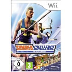 WII SUMMER CHALLENGE - Jeux Wii au prix de 9,95€