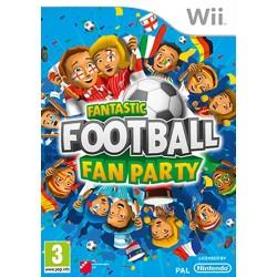 WII FANTASTIC FOOTBALL FAN PARTY - Jeux Wii au prix de 6,95€