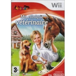 WII MA CLINIQUE VETERINAIRE - Jeux Wii au prix de 9,95€