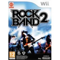 WII ROCK BAND 2 - Jeux Wii au prix de 14,95€