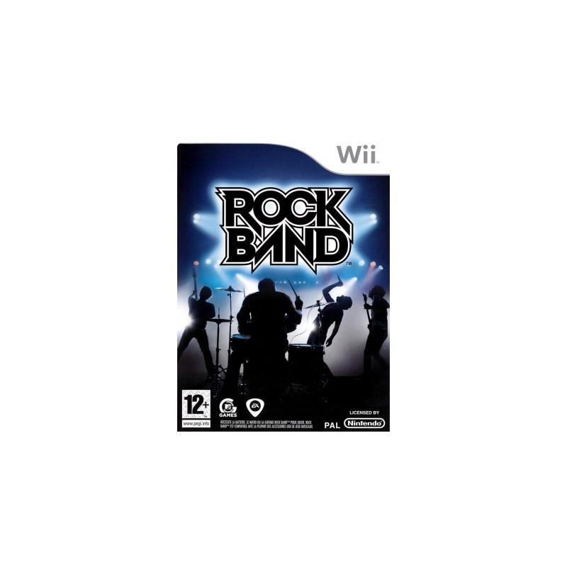 WII ROCKBAND - Jeux Wii au prix de 6,95€