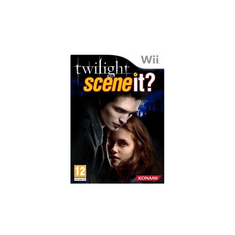 WII SCENE IT TWILIGHT - Jeux Wii au prix de 4,95€