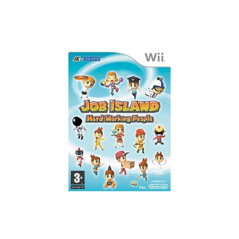 WII JOB ISLAND - Jeux Wii au prix de 9,95€