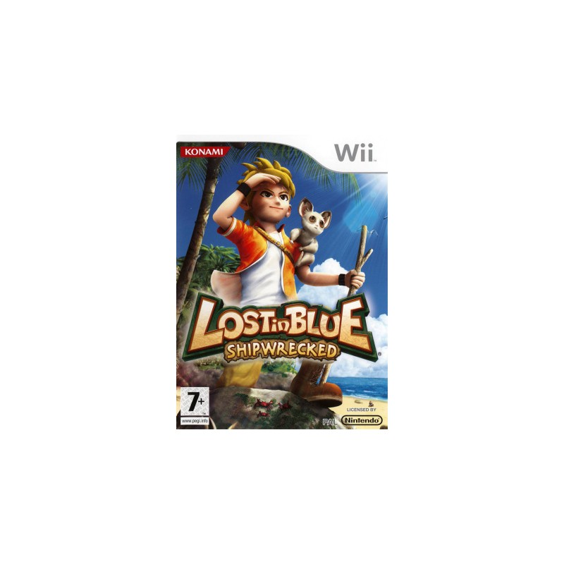 WII LOST IN BLUE - Jeux Wii au prix de 9,95€