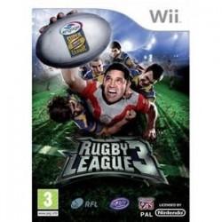 WII RUGBY LEAGUE 3 - Jeux Wii au prix de 19,95€