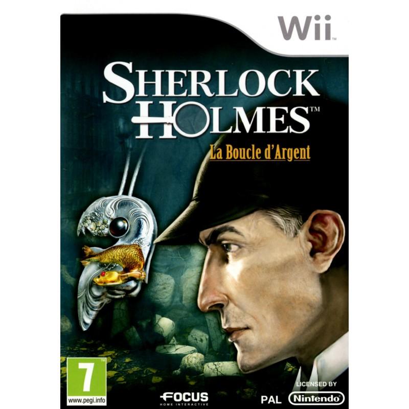 WII SHERLOCK HOLMES LA BOUCLE D ARGENT - Jeux Wii au prix de 14,95€