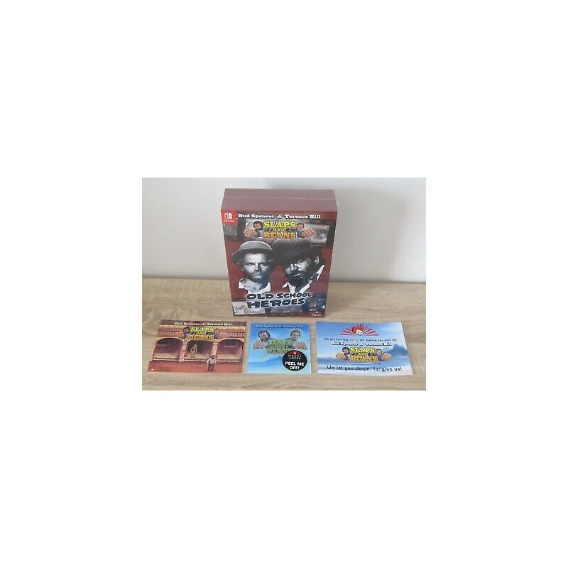 SWITCH BUD SPENCER AND TERENCE HILL SLAP AND BEANS COLLECTOR - Jeux Switch au prix de 99,95€