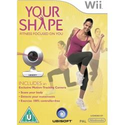WII YOUR SHAPE CAMERA - Jeux Wii au prix de 9,95€