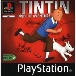 PSX TINTIN OBJECTIF AVENTURE - Jeux PS1 au prix de 6,95€