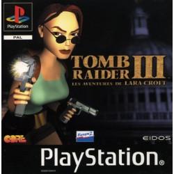 PSX TOMB RAIDER 3 - Jeux PS1 au prix de 9,95€