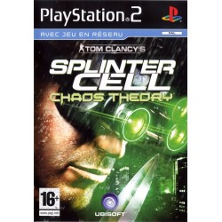 PS2 SPLINTER CELL CHAOS THEORY - Jeux PS2 au prix de 5,95€