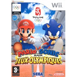 WII MARIO ET SONIC AUX JEUX OLYMPIQUES - Jeux Wii au prix de 14,95€