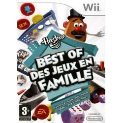 WII HASBRO BEST OF DES JEUX EN FAMILLE - Jeux Wii au prix de 6,95€