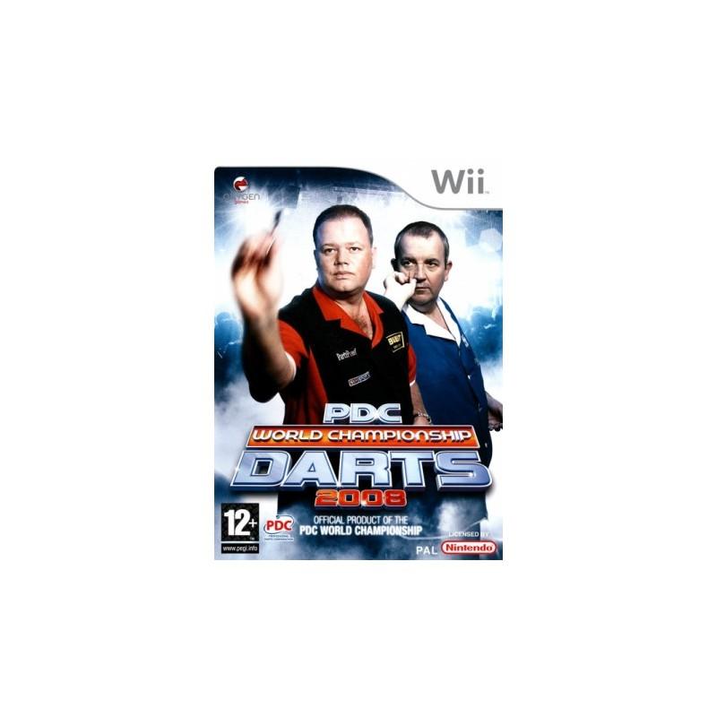 WII PDC WORLD CHAMPIONSHIP DARTS 2008 - Jeux Wii au prix de 9,95€