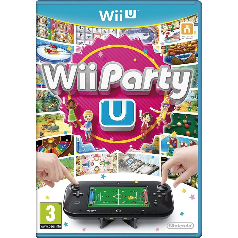 WII U WII PARTY U - Jeux Wii U au prix de 0,00€