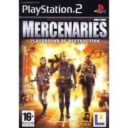 PS2 MERCENARIES PLAYGROUND OF DESTRUCTION - Jeux PS2 au prix de 4,95€