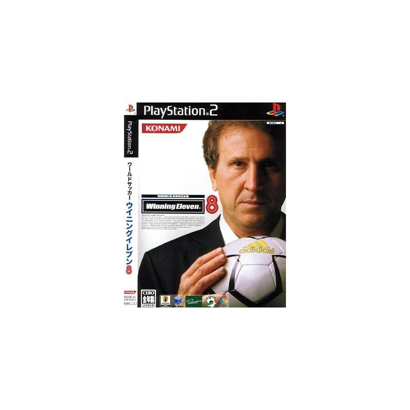 PS2 WINNING ELEVEN 8 (IMPORT JAP) - Jeux PS2 au prix de 1,95€
