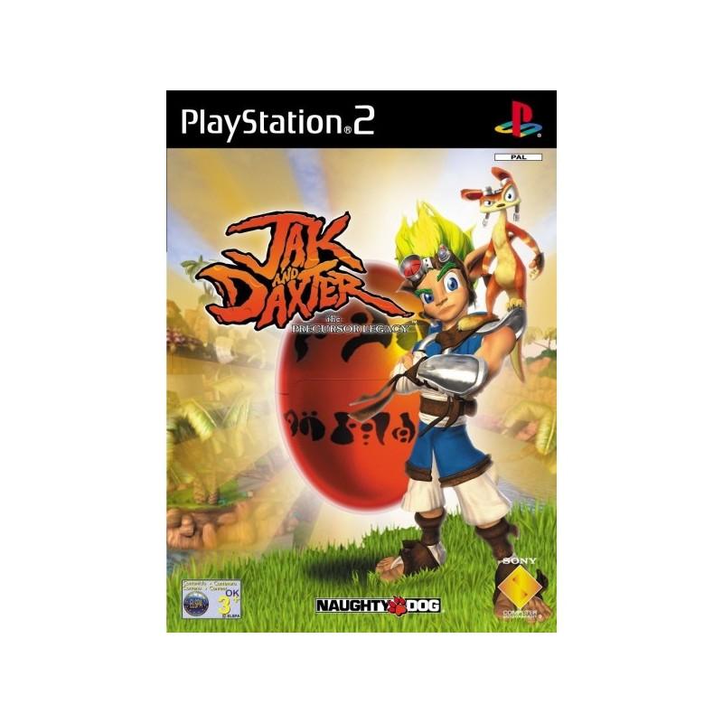 PS2 JAK AND DAXTER THE PRECURSOR LEGACY (PLATINUM) - Jeux PS2 au prix de 4,95€