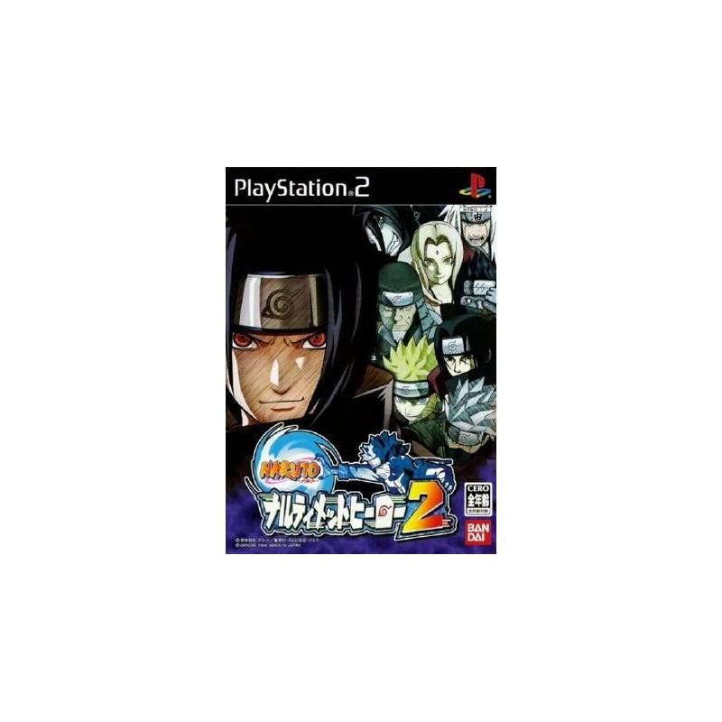 PS2 NARUTO NAURTIMATE 2 (IMPORT JAP) - Jeux PS2 au prix de 6,95€