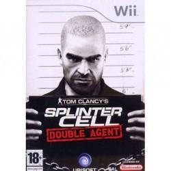 WII SPLINTER CELL DOUBLE AGENT - Jeux Wii au prix de 8,95€