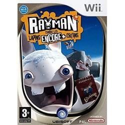 WII RAYMAN CONTRE LES LAPINS ENCORE + ET CRETINS - Jeux Wii au prix de 7,95€