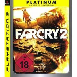 PS3 FARCRY 2 (PLATINUM) - Jeux PS3 au prix de 11,95€