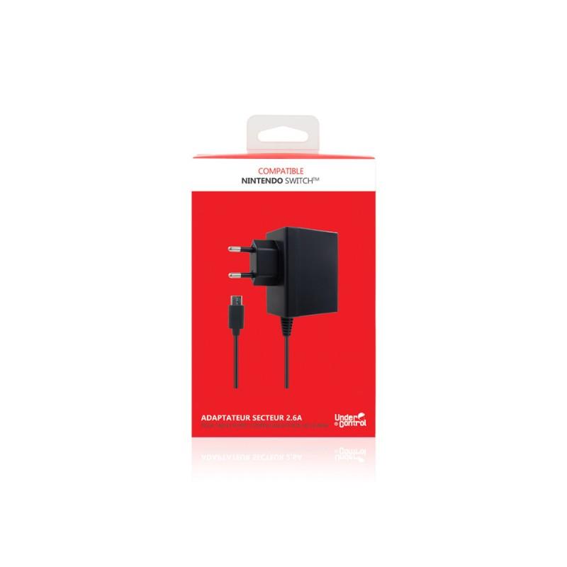 ADAPTATEUR SECTEUR SWITCH UNDERCONTROL OCC - Accessoires Switch au prix de 6,95€