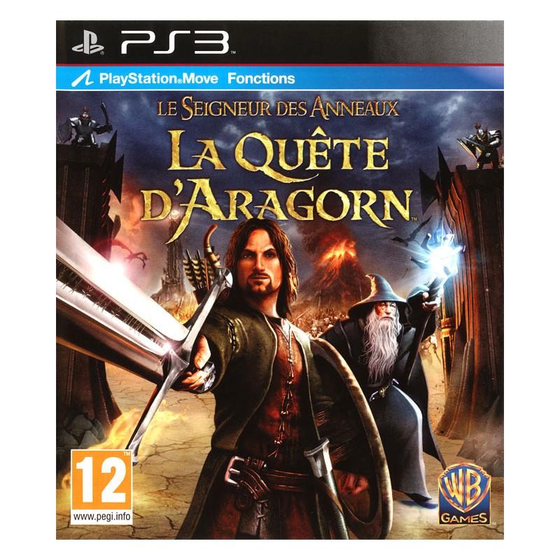 PS3 LE SEIGNEUR DES ANNEAUX ARAGORN - Jeux PS3 au prix de 12,95€