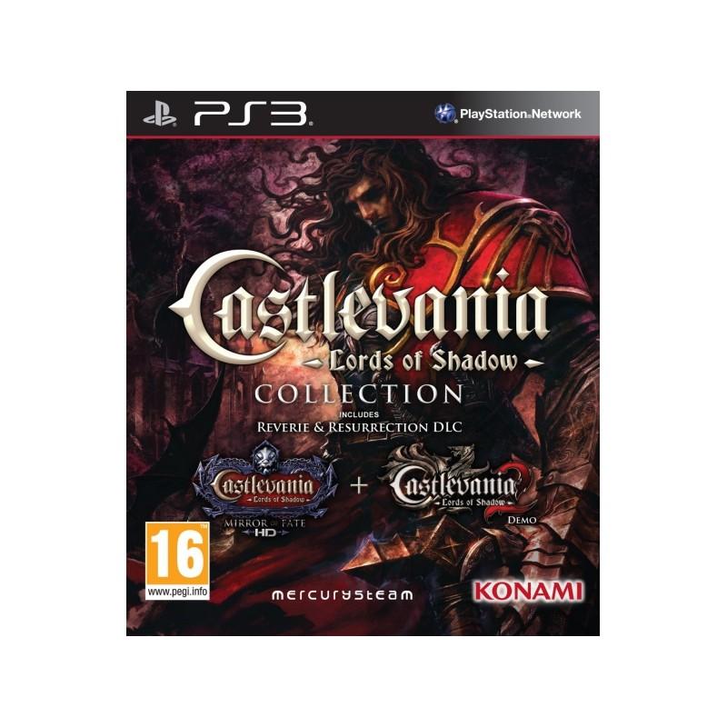 PS3 CASTLEVANIA LORDS OF SHADOW COLLECTION - Jeux PS3 au prix de 0,00€