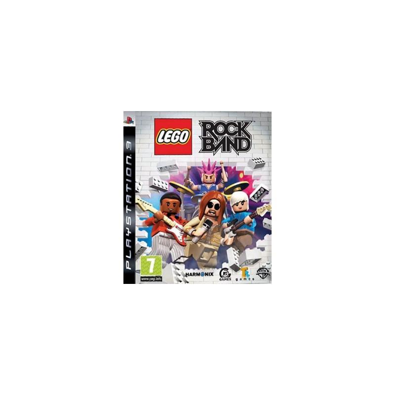 PS3 LEGO ROCKBAND US - Jeux PS3 au prix de 4,95€