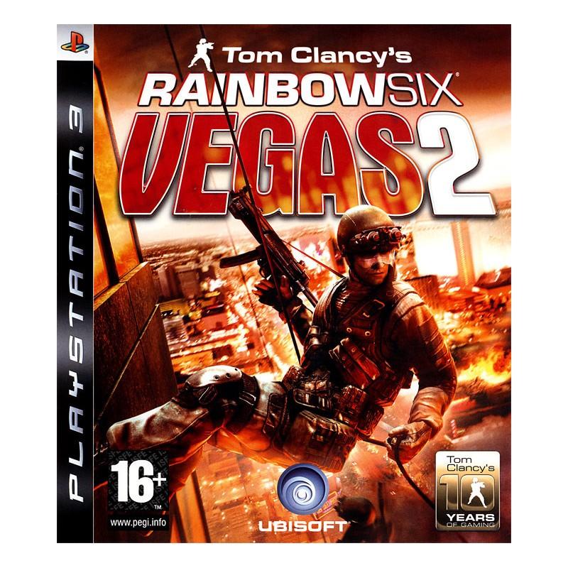 PS3 RAINBOW SIX VEGAS 2 LIMITED EDITION UK - Jeux PS3 au prix de 14,95€