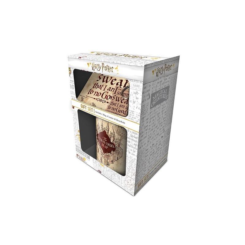COFFRET CADEAU HARRY POTTER MARAUDERS MAP - Autres Goodies au prix de 14,95€