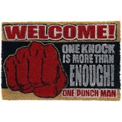 PAILLASSON ONE PUNCH MAN (ONE KNOCK) - Autres Goodies au prix de 24,95€