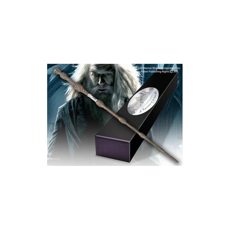 BAGUETTE HARRY POTTER ALBUS DUMBLEDORE NOBLE COLLECTION - Baguettes au prix de 34,95 €