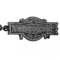 PORTE CLES GAME OF THRONES LOGO - Porte Clés au prix de 6,95€