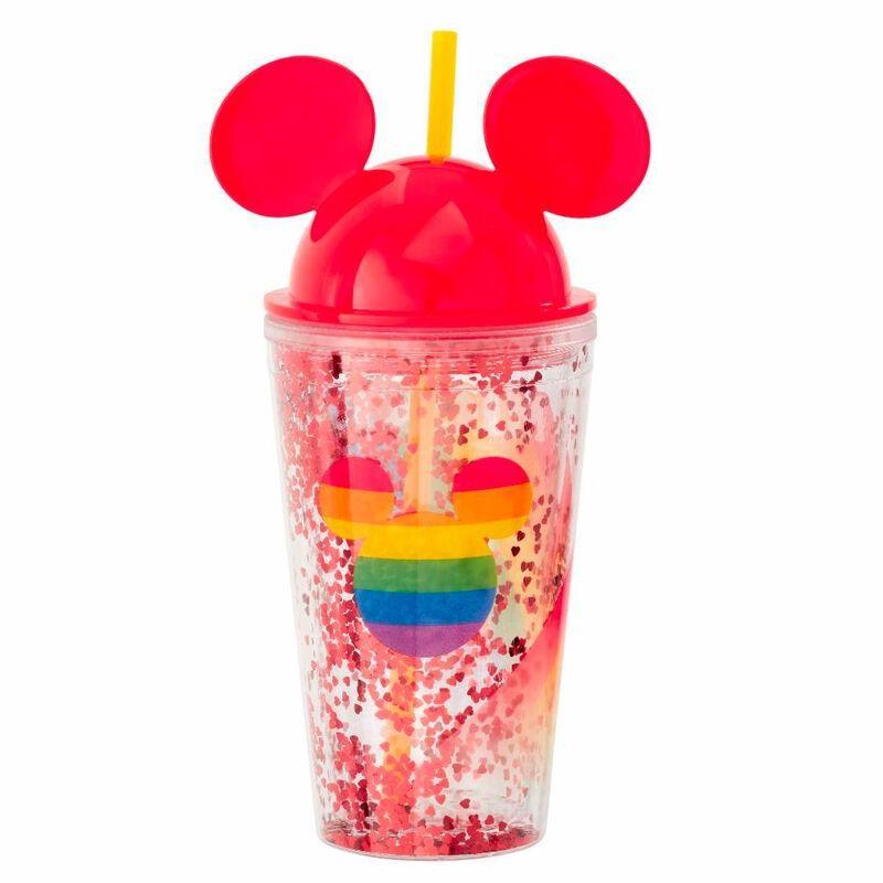 CUP DISNEY MICKEY RAINBOW AVEC PAILLE - Mugs au prix de 9,95€
