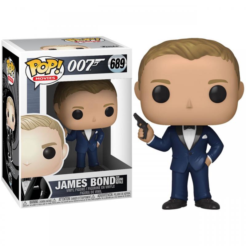 POP 007 689 JAMES BOND CASINO ROYALE - Figurines POP au prix de 14,95€