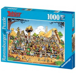 PUZZLE ASTERIX PHOTO DE FAMILLE 1000 PIECES - Puzzles au prix de 14,95 €