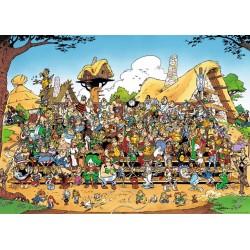 PUZZLE ASTERIX PHOTO DE FAMILLE 1000 PIECES - Puzzles au prix de 14,95€