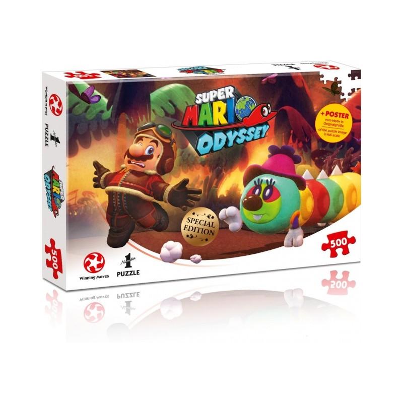 PUZZLE SUPER MARIO ODYSSEY AVIATION - Puzzles au prix de 11,95€