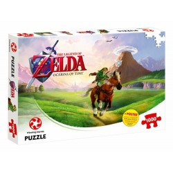 PUZZLE ZELDA OCARINA OF TIME 1000 PIECES - Puzzles au prix de 14,95 €
