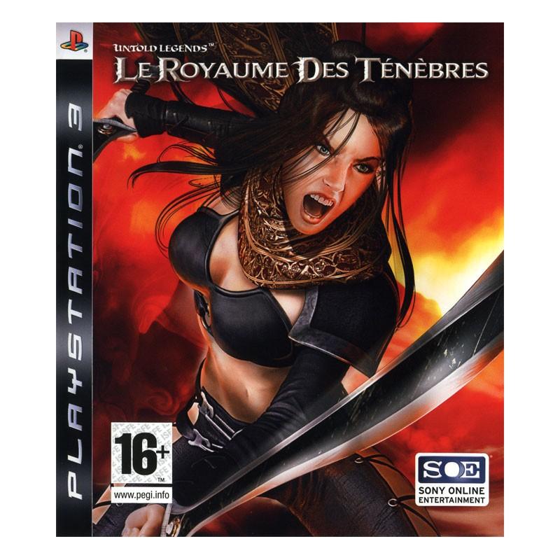 PS3 UNTOLD LEGEND ROYAUME DES TENEBRES - Jeux PS3 au prix de 14,95€
