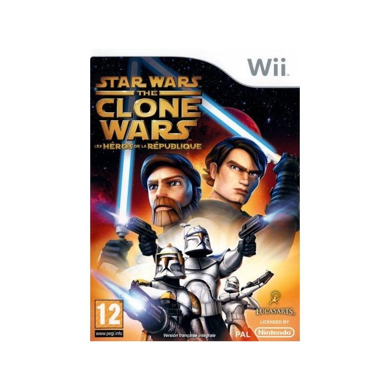 WII STAR WARS THE CLONE WARS LES HEROS - Jeux Wii au prix de 9,95€