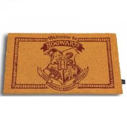 PAILLASSON HARRY POTTER WELCOME TO HOGWARDS 43 X 73 CM - Autres Goodies au prix de 24,95€