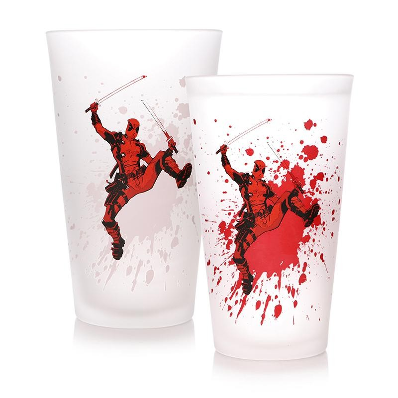 VERRE TERMOREACTIF CHANGE DEADPOOL - Mugs au prix de 9,95€