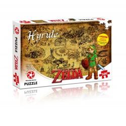 PUZZLE ZELDA HYRULE MAP 500 PIECES - Jeux de Société au prix de 14,95€